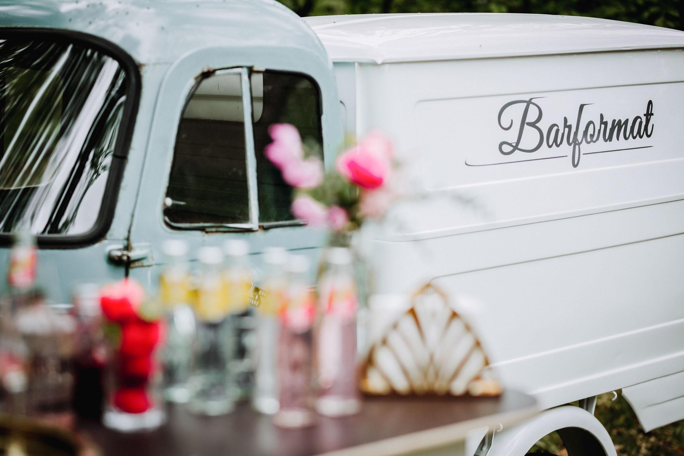Barformat | Mobile | Bar | Hannover | Hamburg | Bremen | Braunschweig | Cocktailbar | Sektempfang | Hochzeit | Cocktailservice | Bulli | Bar | Barkeeper | Messen | Firmenfeiern | Catering | Food | Truck | Getränke | Ape | VW